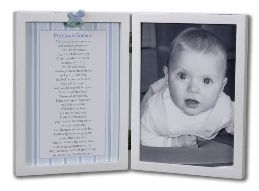 Precious Godson Picture Frame | Being A GodParent | Pinterest ...