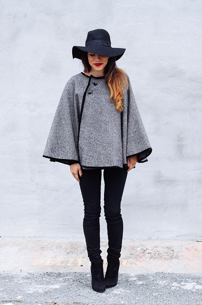 20 diy poncho patterns to get hooked on this fall cape for Cape designs