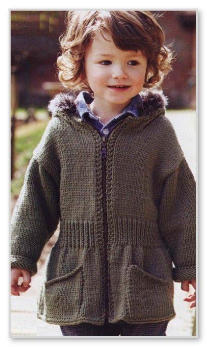 Курточка для мальчика спицами 18