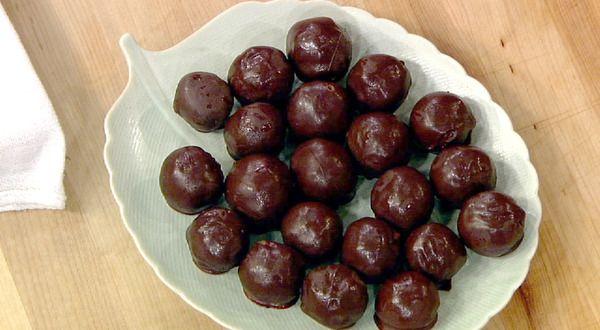 the chew   Recipe    Mayim Bialik's Pecan Pie Truffles