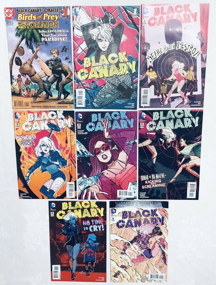 Dc Comics Black Canary Oracle Birds Of Prey Revolution 1 Special Plus 1 6 9 Black Canary Prey Birds Of Prey