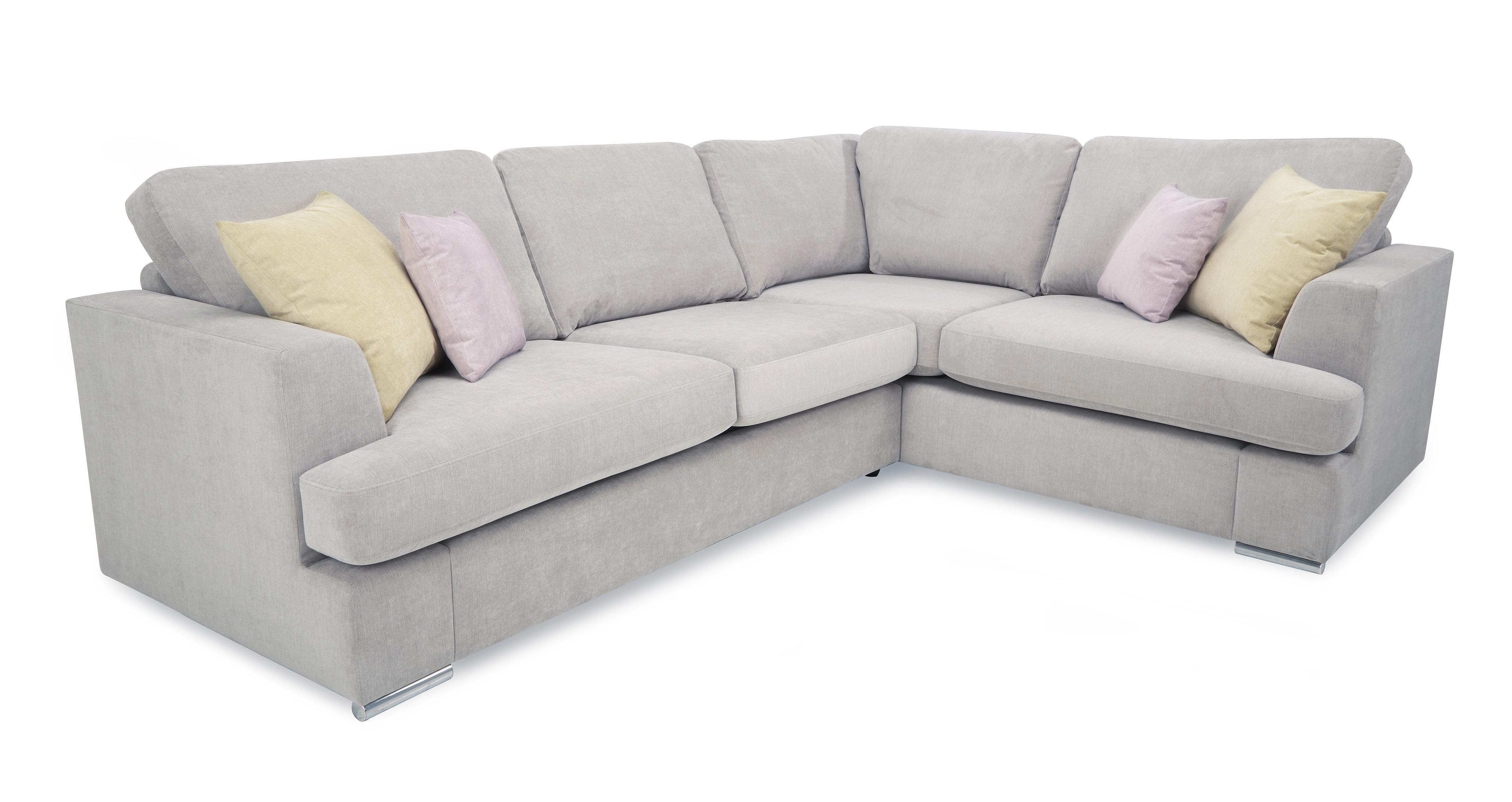 Freya Left Hand Facing 2 Piece Corner Deluxe Sofa Bed In 2020 Corner Sofa Sofa Bed Sale Sofa Bed
