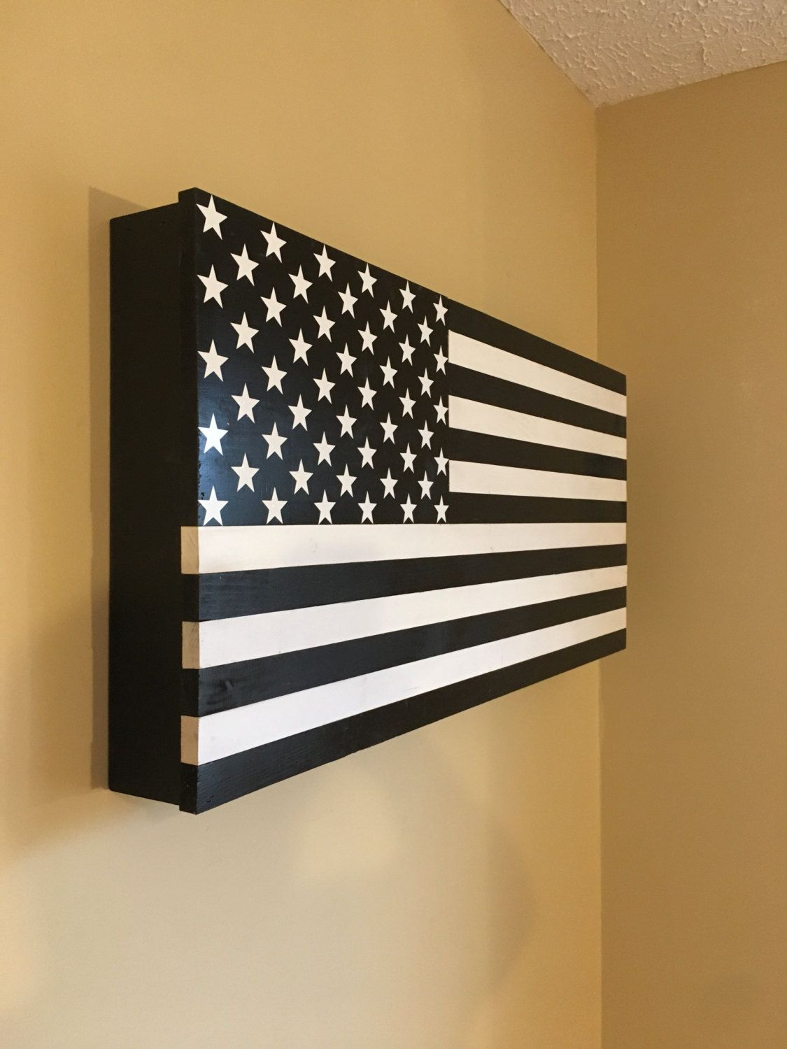 Secret Storage american flag hidden storage secret compartment gun rack