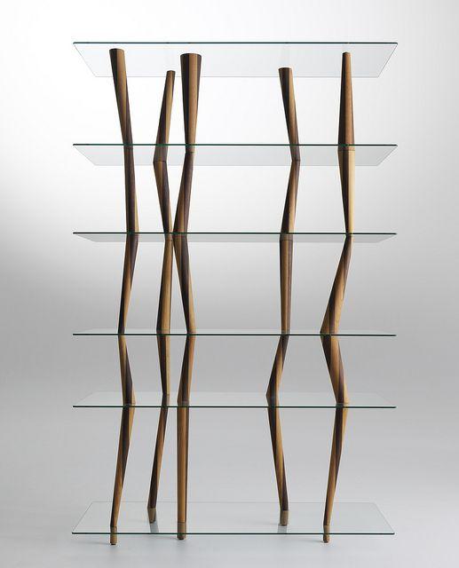 designer regal sendai crystal toyo ito, sendai crystal / bookcase-sculpture / design: toyo ito / sendai, Möbel ideen