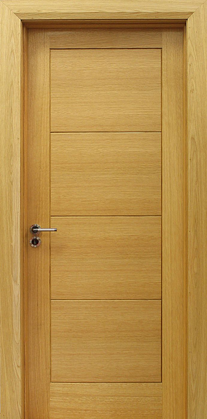 Wooden Internal Doors With: Milan White Oak Door (40mm) In 2020