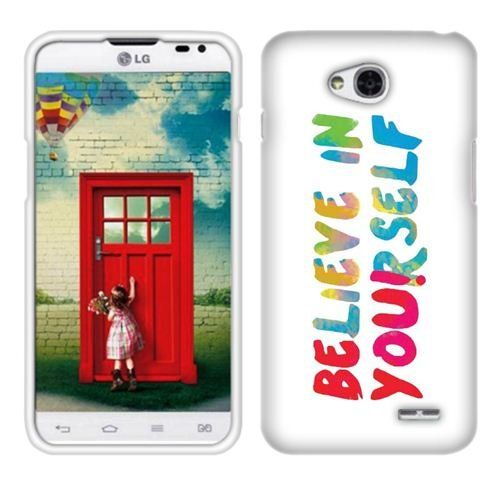 Fincibo (TM) LG Optimus L70 D321 Exceed 2 VS450 Protector Cover Case Snap On Hard Plastic - Be You, Front And Back Fincibo http://www.amazon.com/dp/B00NIJ58TI/ref=cm_sw_r_pi_dp_su66ub01WJHV1
