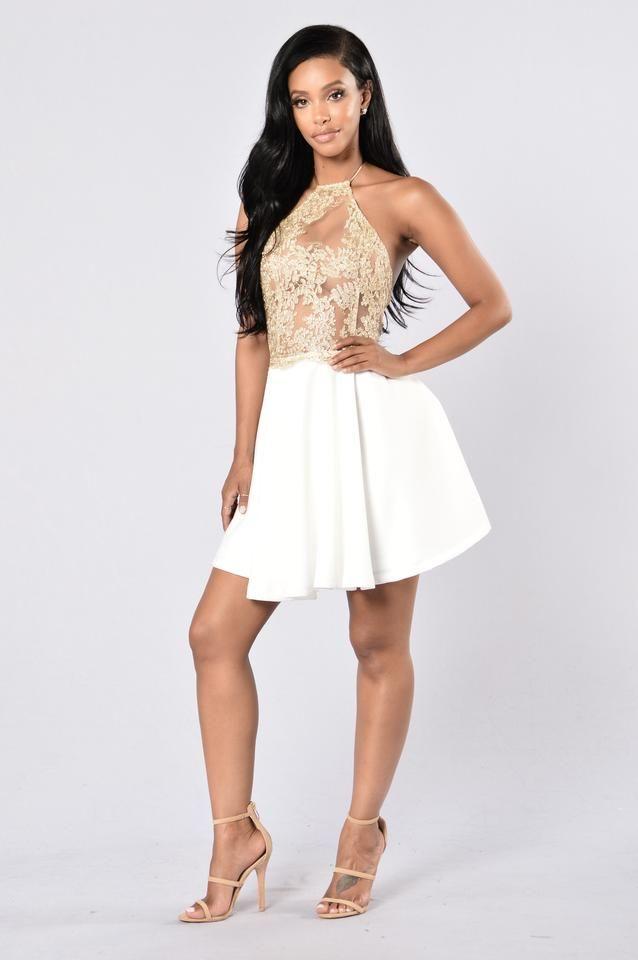 Midsummer Night's Dress - White