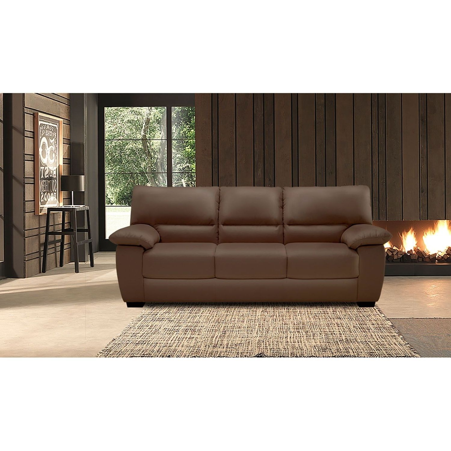 Sams Sofa Reagan Leather Motion Sofa Recliner Set Sam S Club