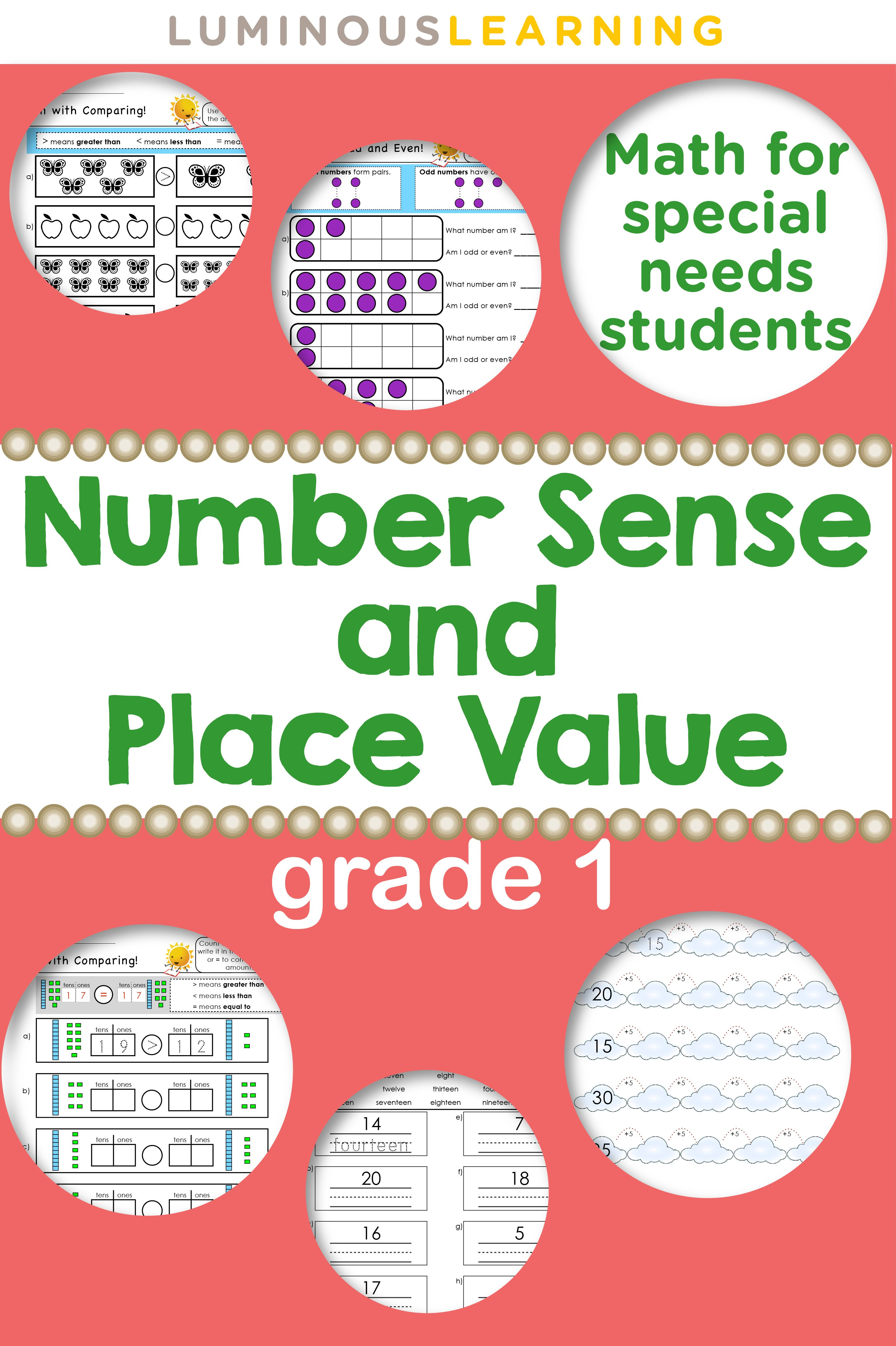 Grade 1 Number Sense Amp Place Value Workbook Making Math