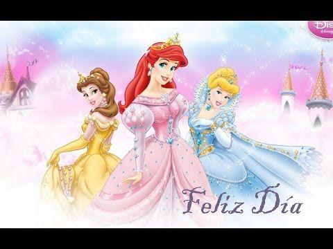 Cumpleanos feliz princesas disney en espanol