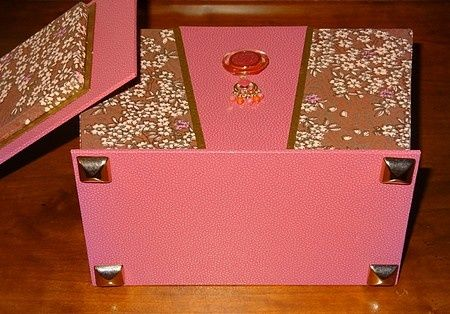 Boxes made by bloggers from the tutorial !!!
