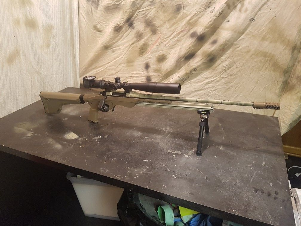 308 Winchester rifle build  Remington 783 action  Witt machine break