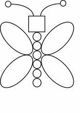 lernen übungen. geometrischen formen72   formen vorschule, formen für kinder, malvorlagen für kinder