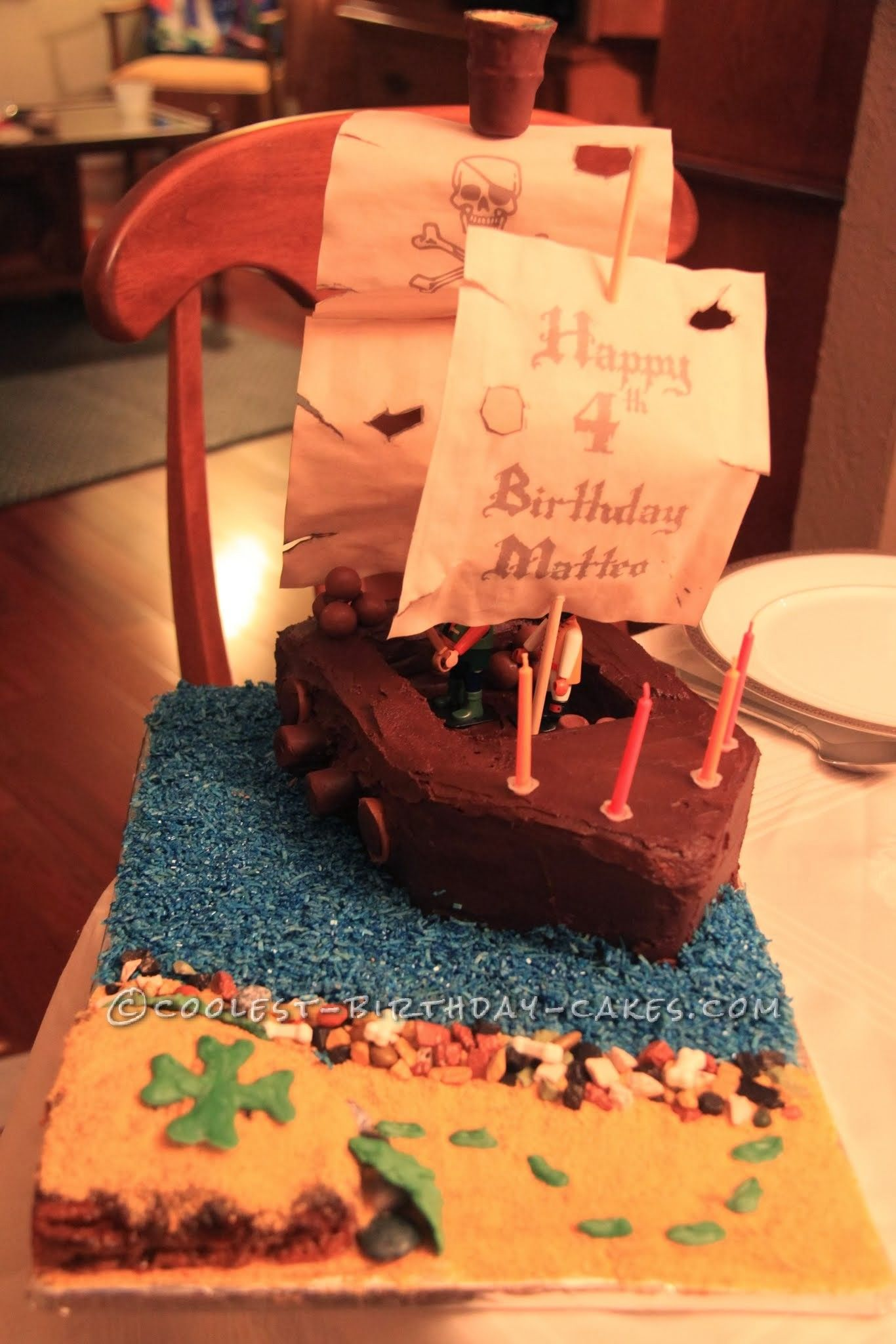 Coolest Playmobil Pirate Birthday Cake This website is the
