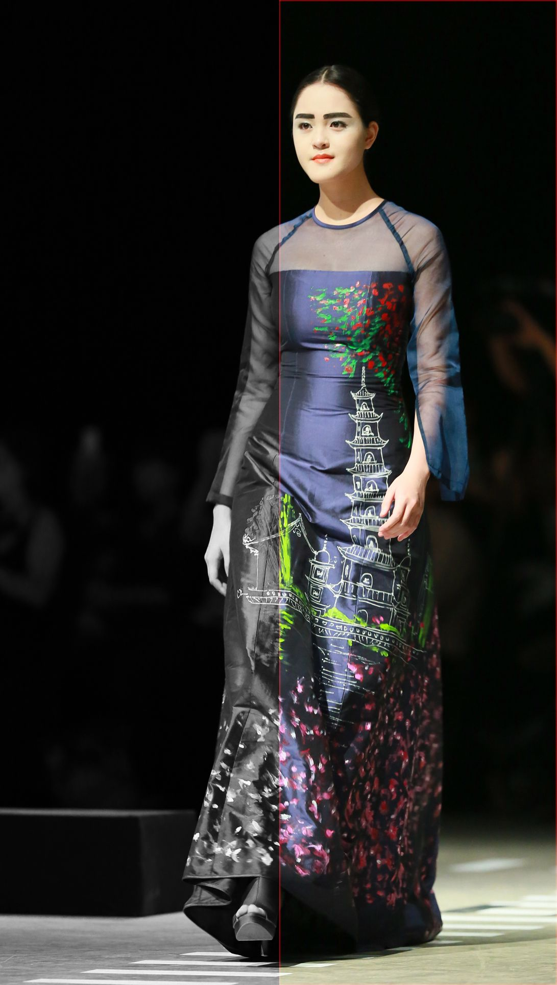 Vietnam Fashion Week FW14 - Haute Couture. Designer: Chula. Photo: Thanh Dat