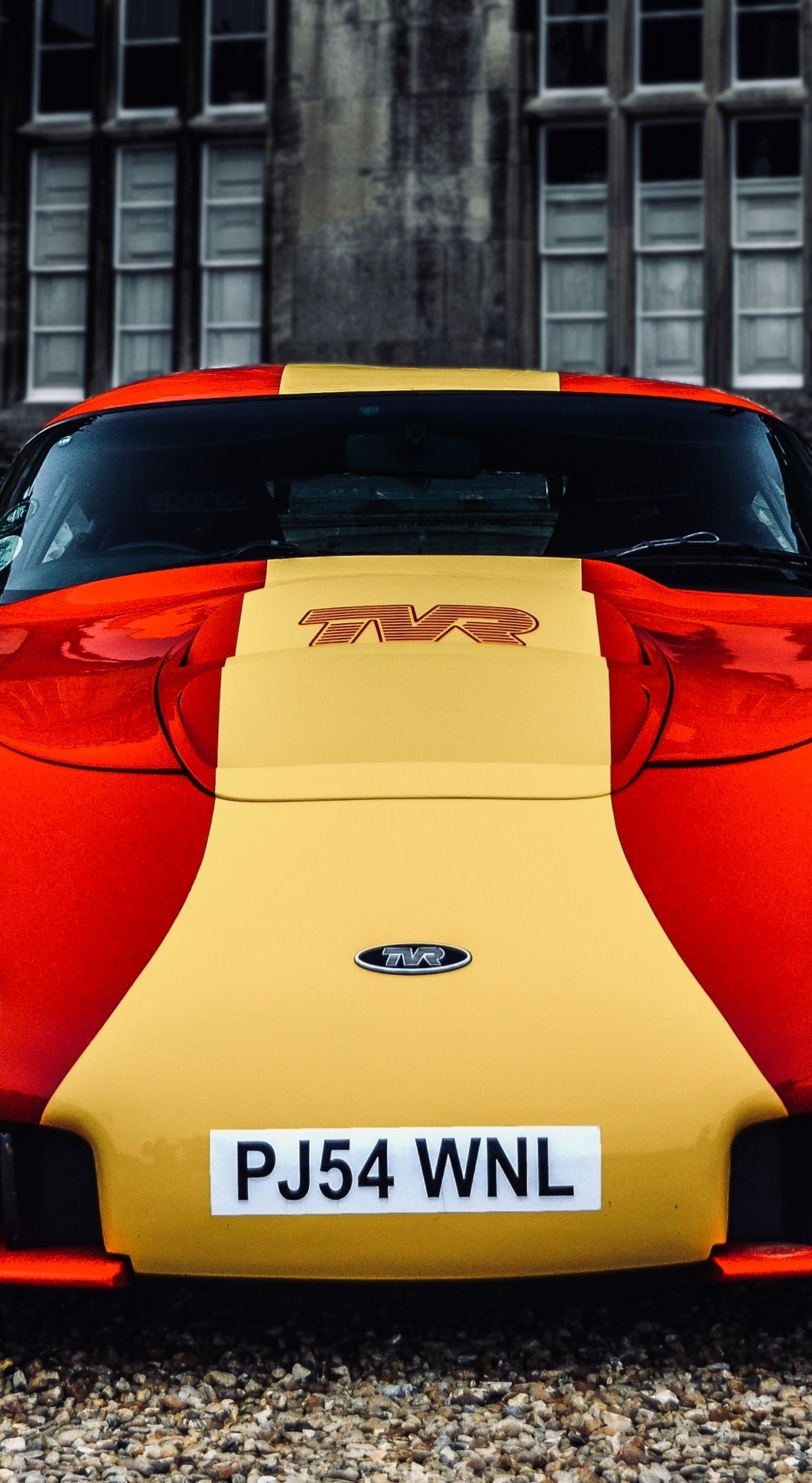 1440x2630 Tvr Sport Car Front View Wallpaper In 2020 Sports Cars View Wallpaper Car