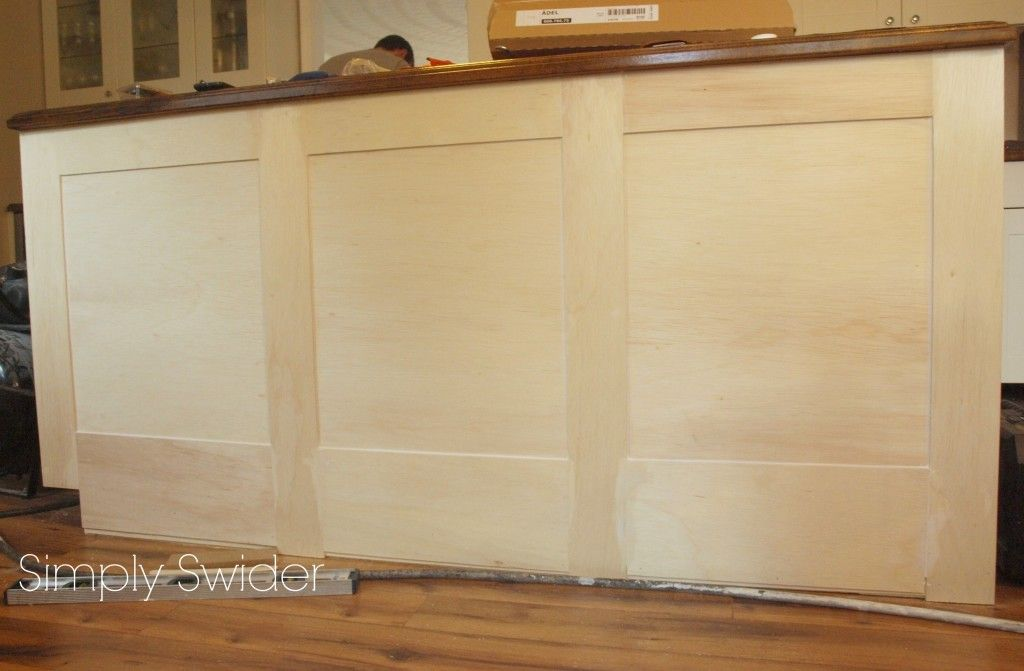 DIY shaker molding added to plain doors | DIY Soffits with crown ...