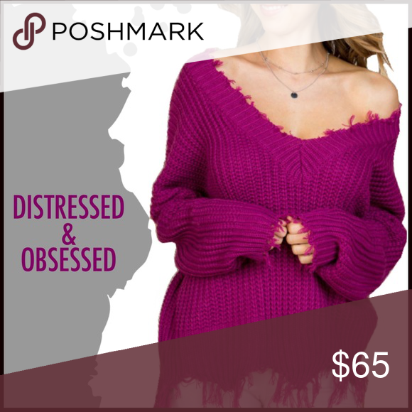 Distressed and Obsessed in Magenta