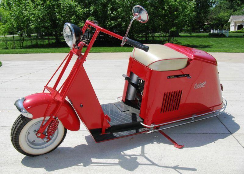 Vintage Motor Scooters Cushman Motor Scooters For Sale Workshop