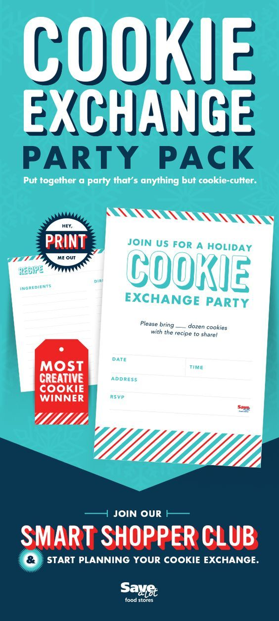Christmas Cookie Baking Party Ideas Part - 46: Holiday Cookie Exchange | Christmas Cookies | Cookie Swap Party | Christmas  Cookie Party | Free Cookie Party Printable | Holiday Baking Party | Coou2026