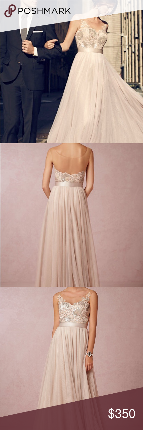 4c3a215f016d Lucca Maxi Antique Rose Wedding Dress Beautiful antique rose wedding  dress...no alterations. Watters Dresses Wedding