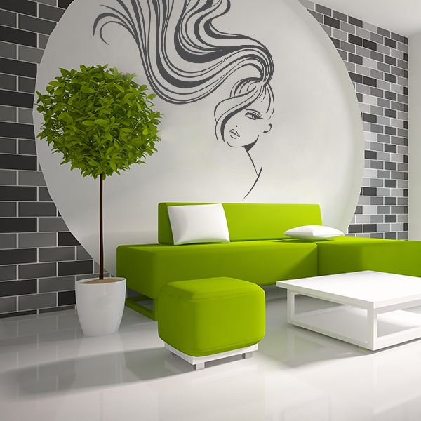 Vinilo decorativo adhesivo spa decorating ideas - Vinilo para salon ...