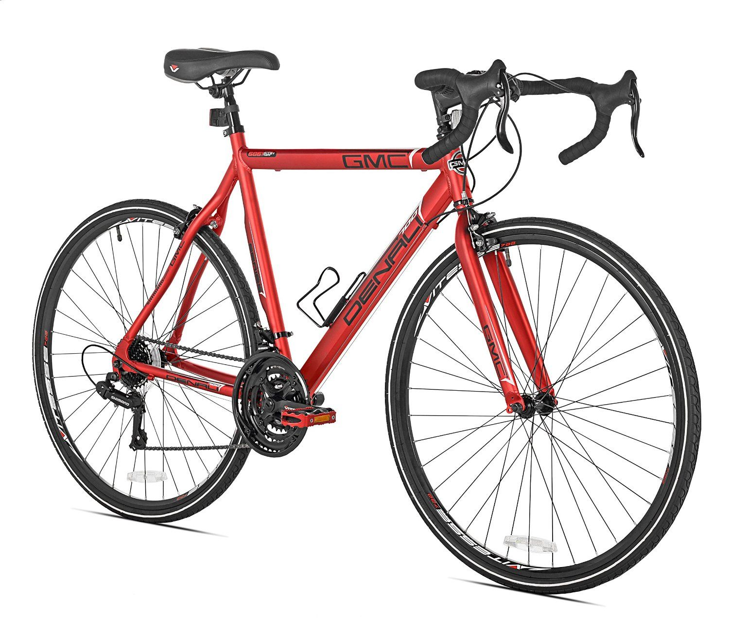 Amazon Com Gmc Denali Road Bike Red Medium Sports Outdoors
