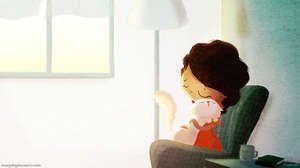 15 illustrations qui prouvent que l'amour passe par des choses simples