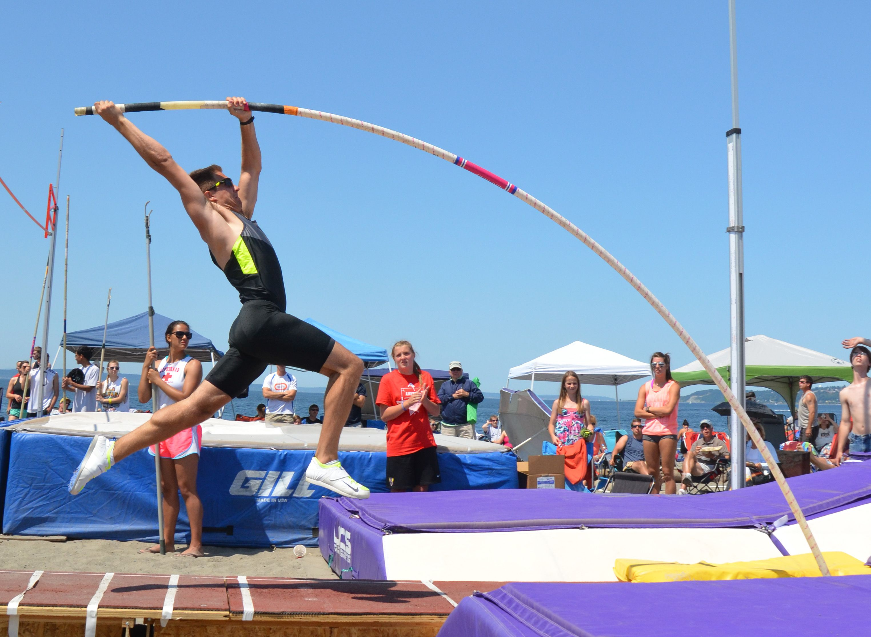 11 Quotes To Catapult You Over Life S Hurdles Pole Vault Hard Work Beats Talent Pole Vault Training