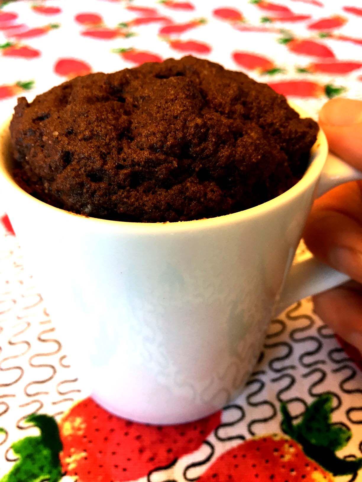 Coconut Flour Chocolate Mug Cake Recipe Gluten Free Paleo