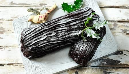 Mary Berry's yule log
