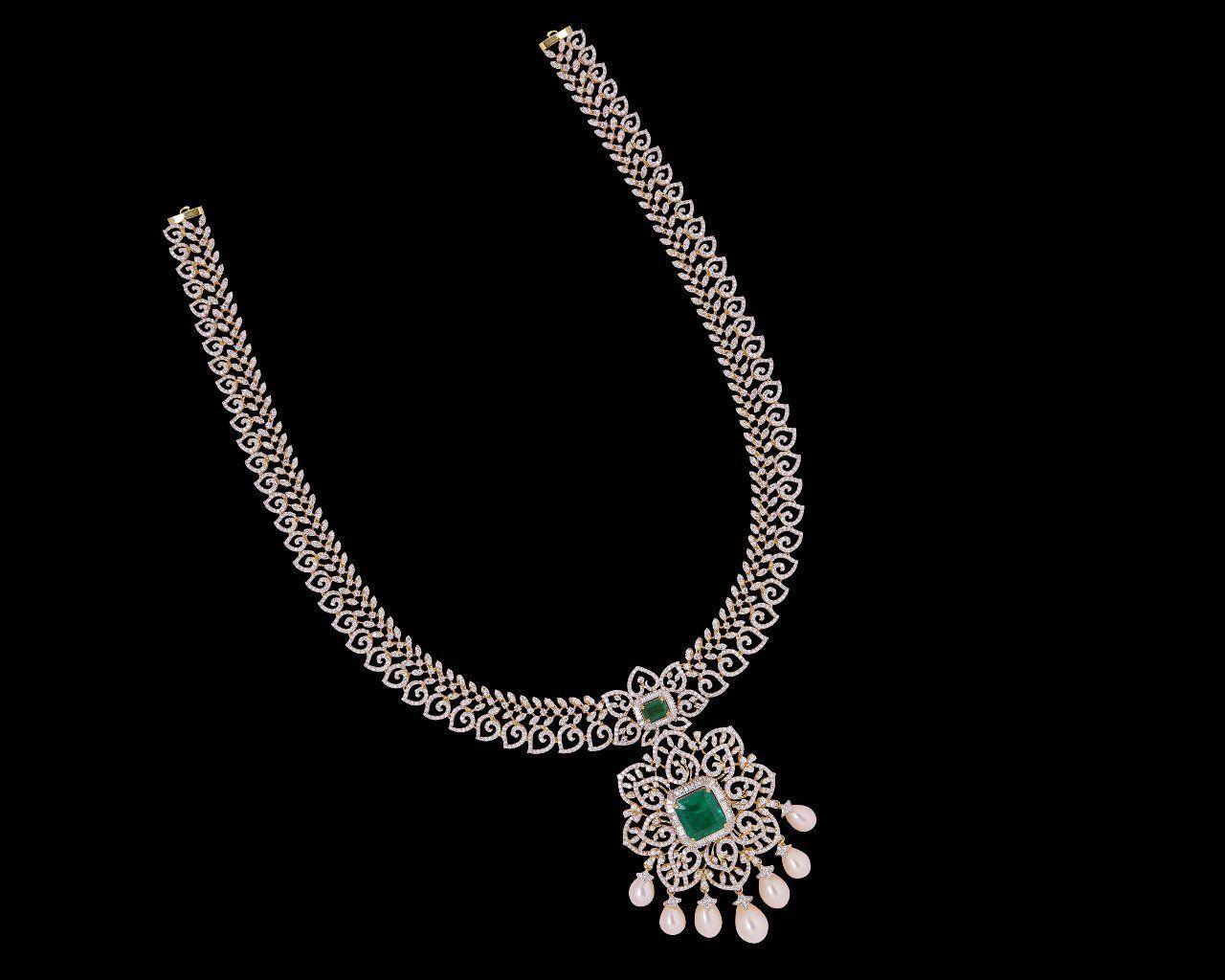 Diamond necklaces chokers diamond jewelry diamond necklaces