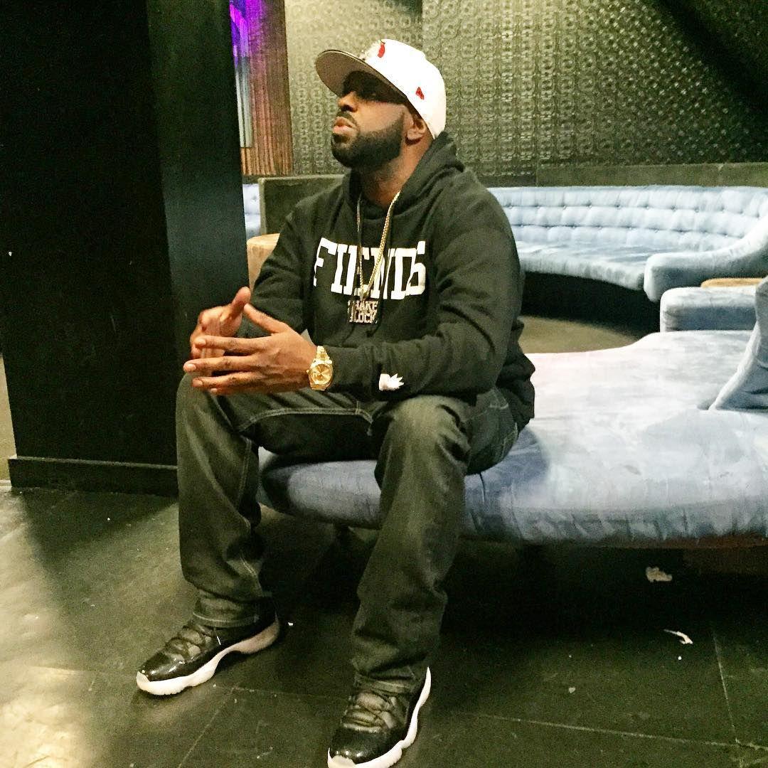 8e95ca971ec DJ Funk Flex wearing the '72-10' Air Jordan 11   Fresh Sneakers ...