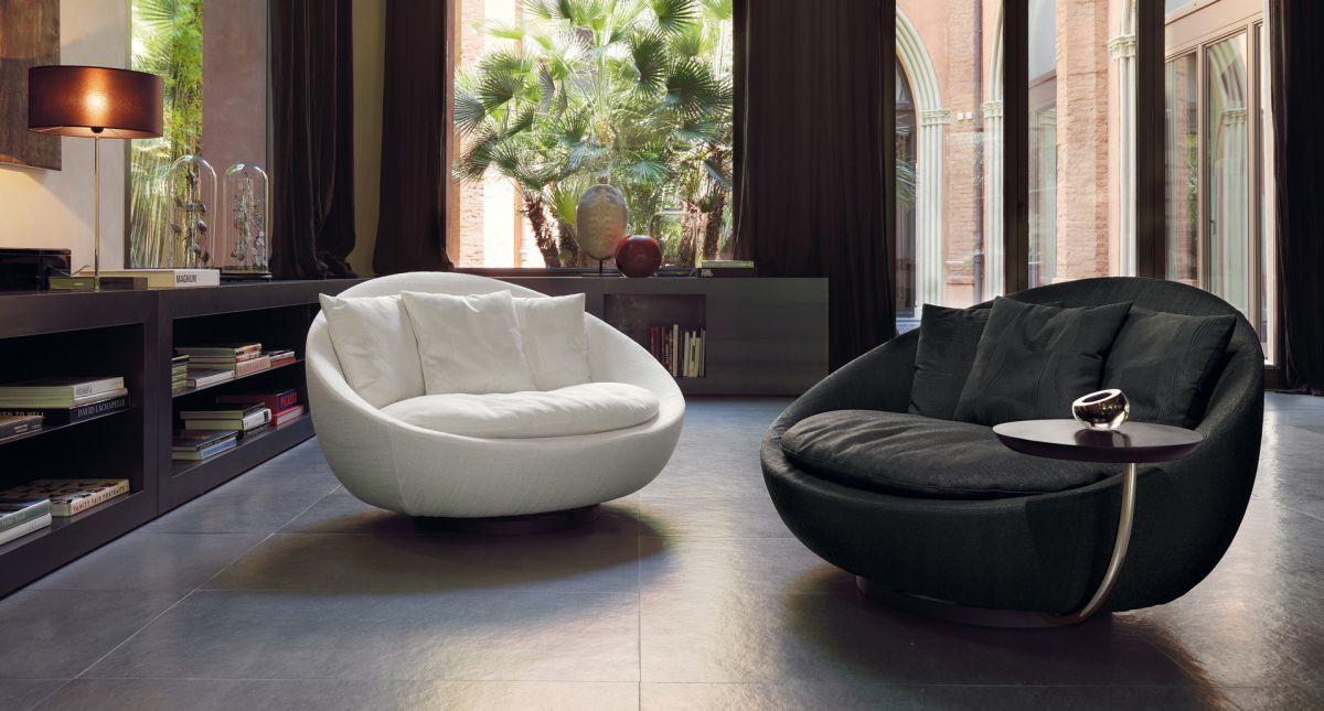 étourdissant Fauteuil Rond Pivotant Design Décoration