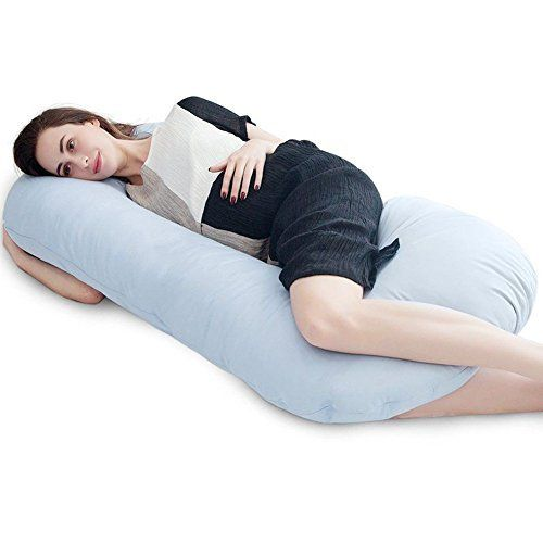 Amazon Com Leachco Snoogle Total Body Pillow Ivory Home
