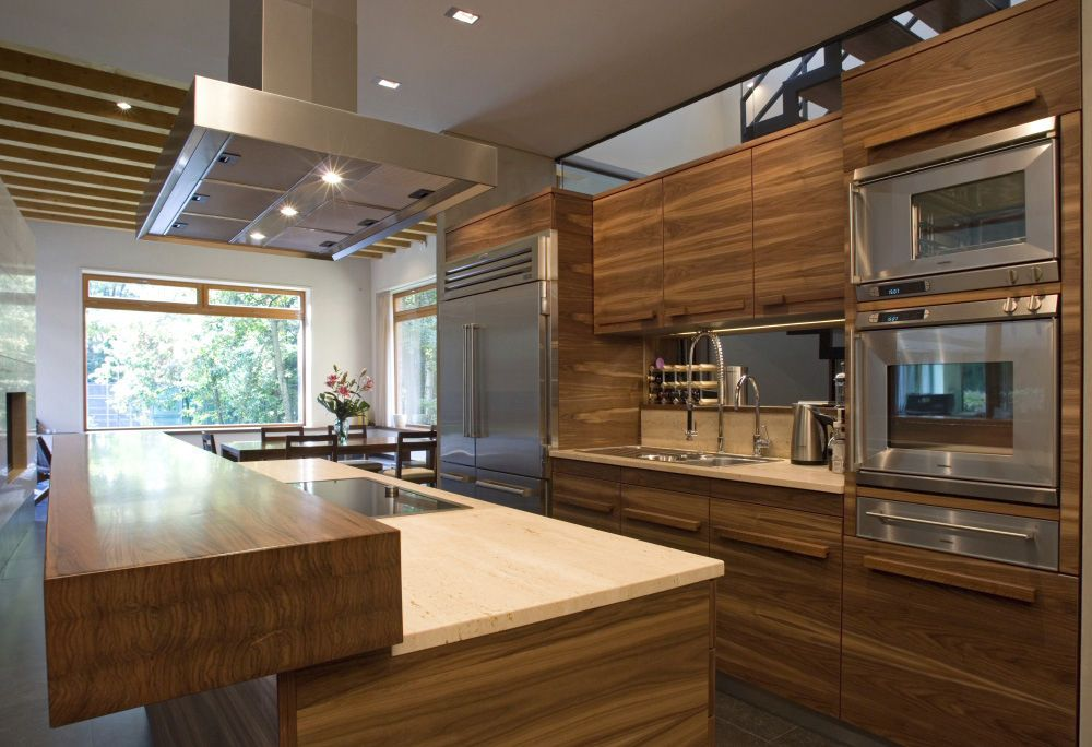 Cocina madera muebles Pinterest Countertop, Cabin and Kitchens