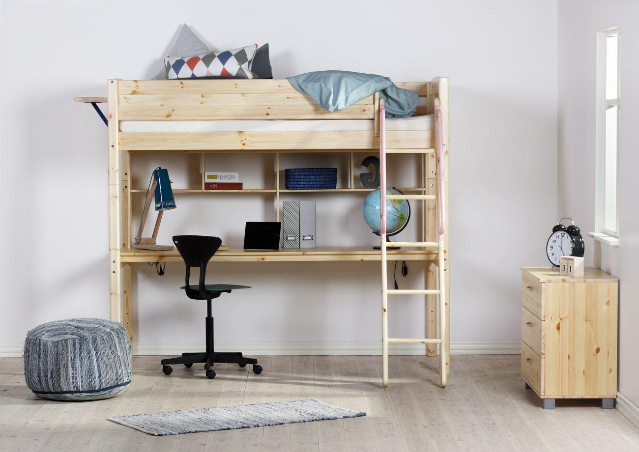 Bureau pour lit mezzanine basic trendy bureaux bureaus