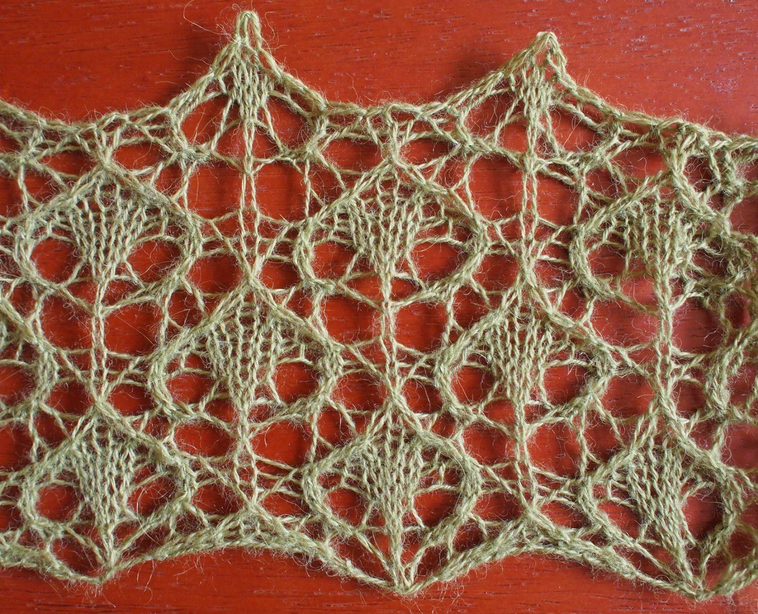 Rain: a free lace knitting stitch pattern | Узоры спицами ...