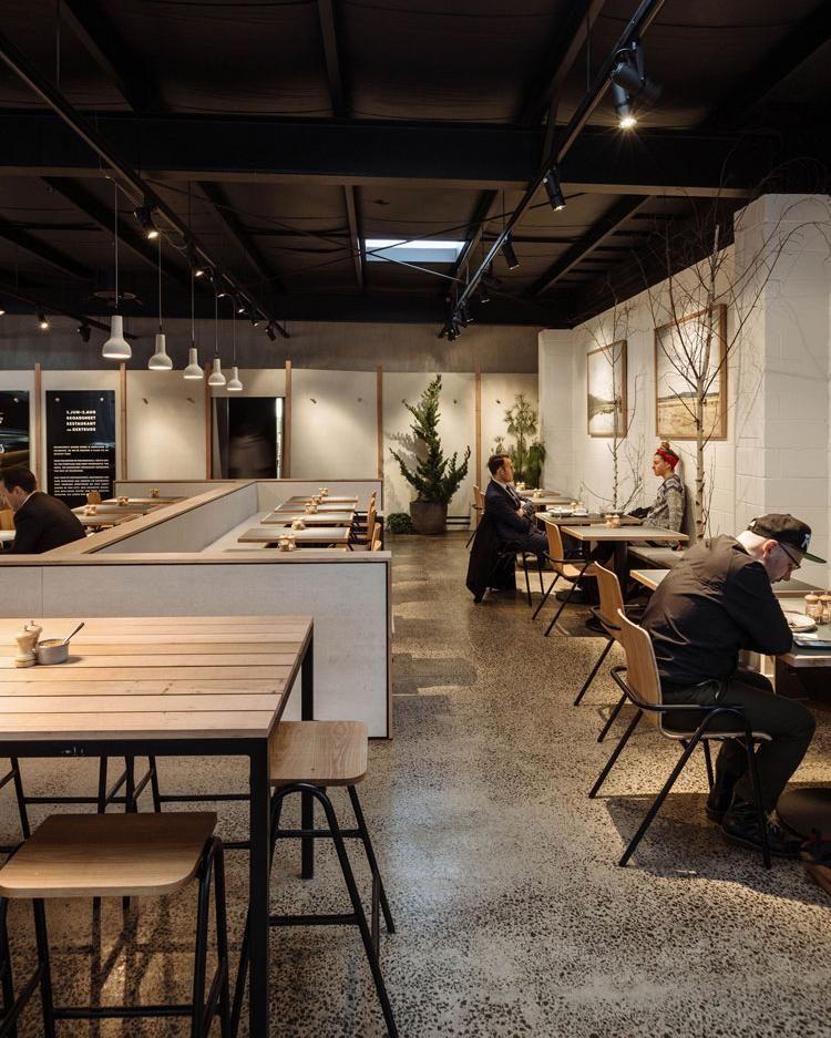 Broadsheet Restaurant Melbourne Corporate Office Design Cafe Design Cafe Interior
