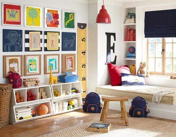 kinderzimmer junge wandgestaltung ideen kinderzeichnungen, Moderne deko