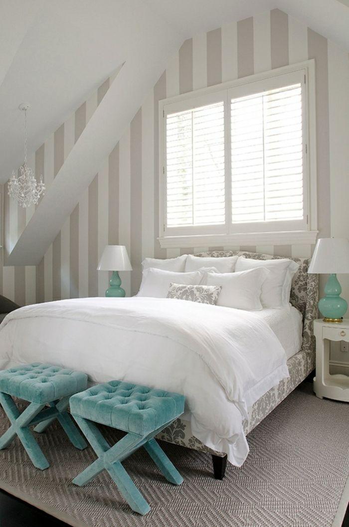 schlafzimmer bank - weiße gestaltung | bedrooms | Pinterest ...
