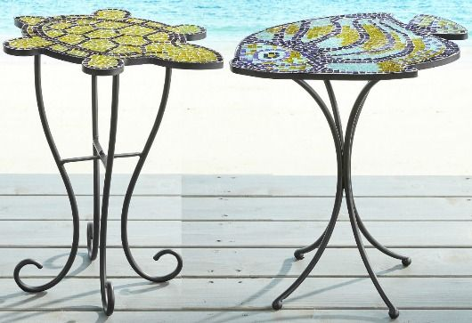 Outdoor Side Tables That Bring The Beach Coast To Your Patio Porch Outdoor Side Table Small Bedroom Furniture Coastal Furniture