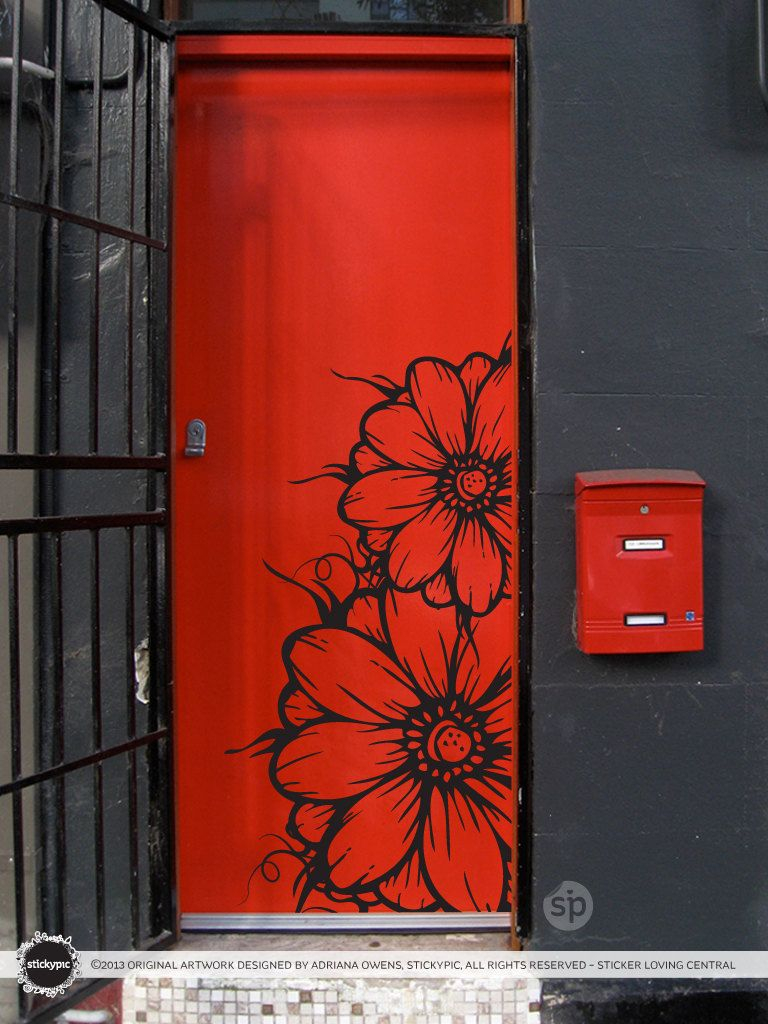 floral grower decal vinyl wall sticker decal door art nature floral grower decal vinyl wall sticker decal door art nature flower floral rose petal