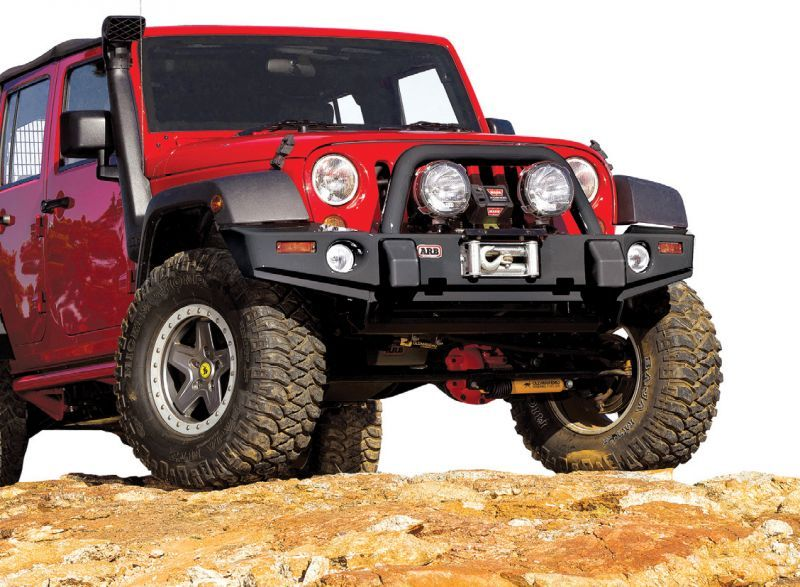 Arb Combination Bull Bar Bumper In Black Jeep Bumpers Jeep