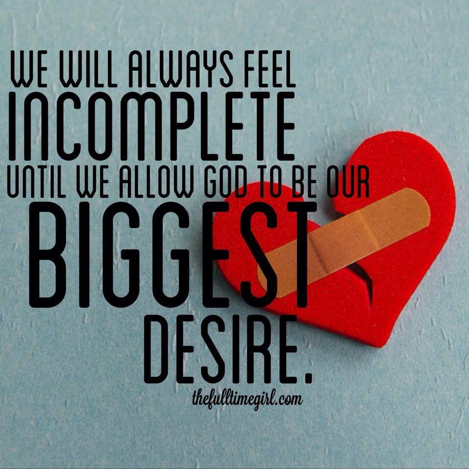 biggest desire