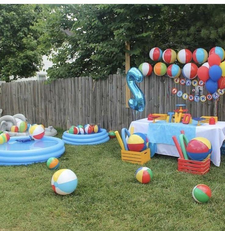 Pin By Gyann Miranda On Baby Ideas Outdoors Birthday Party Boys