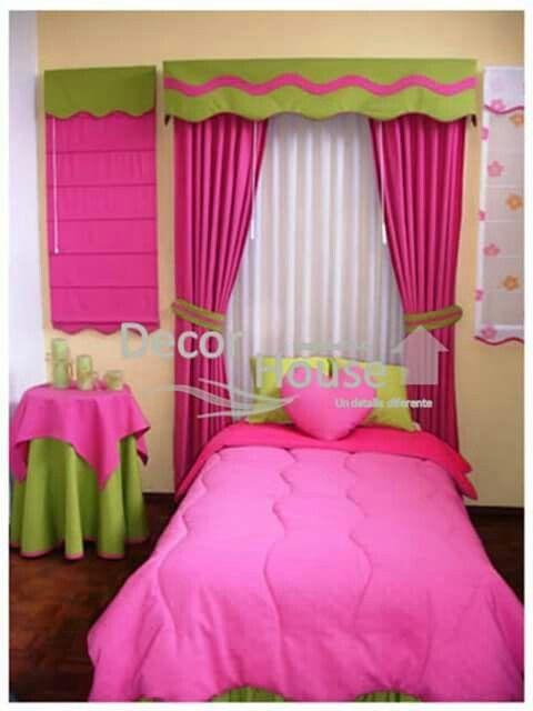 Cuarto | Cuarto Niña | Pinterest | Cortinas, Dormitorios niños y ...