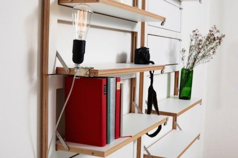 Muebles innovadores para ahorrar espacio Ahorrar espacio, Muebles