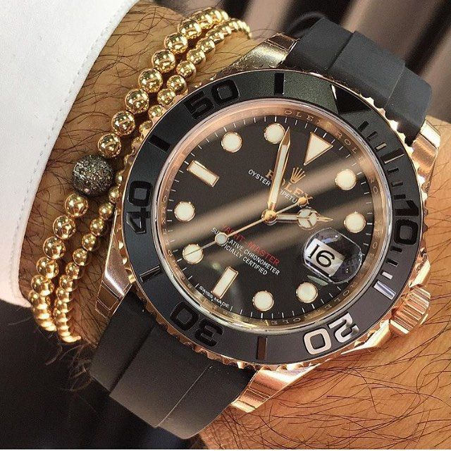 Wristgame with the new Rolex YachtMaster from @AviKoren ✨ | #LoveWatches