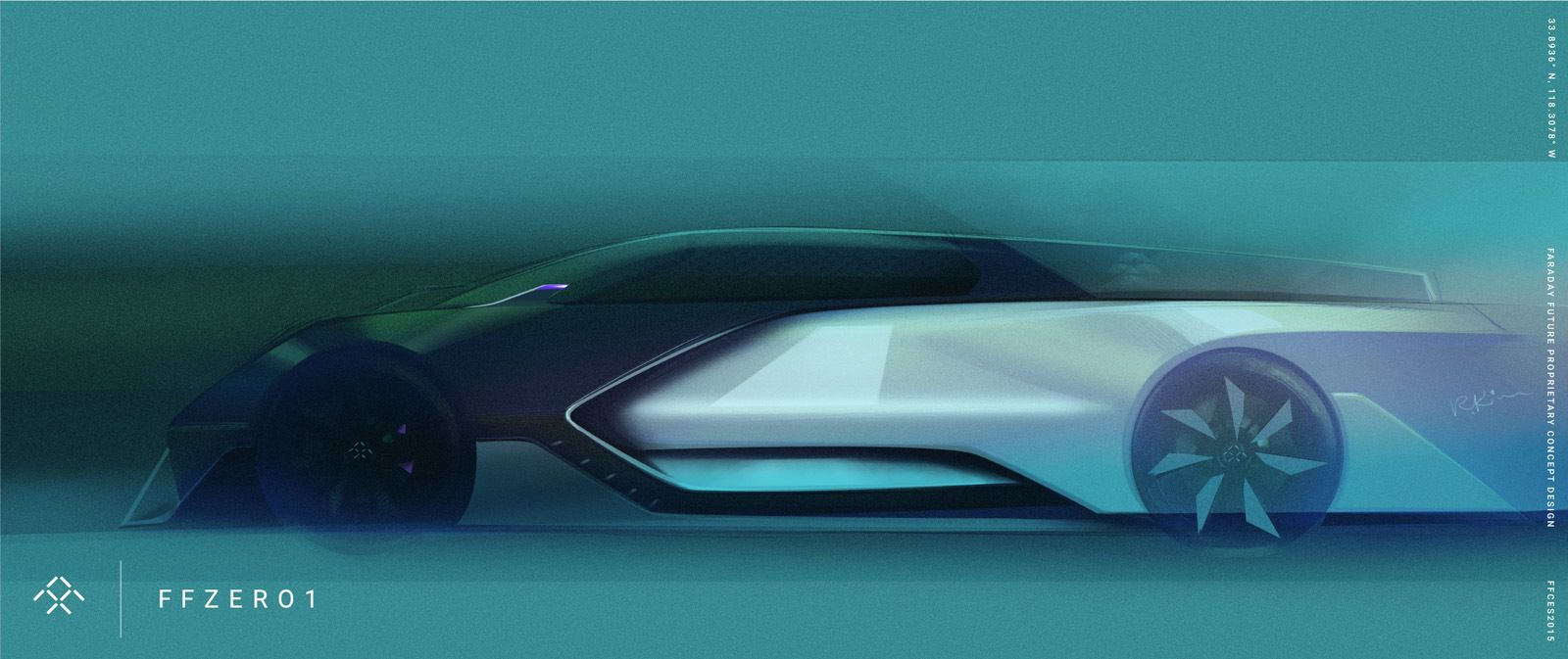 Faraday Future S Design Dna The Ffzero1 Faraday Future